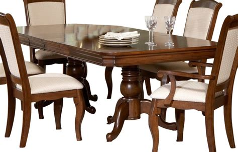 louis philippe dining table liberty furniture louis philippe 96x44 rectangular