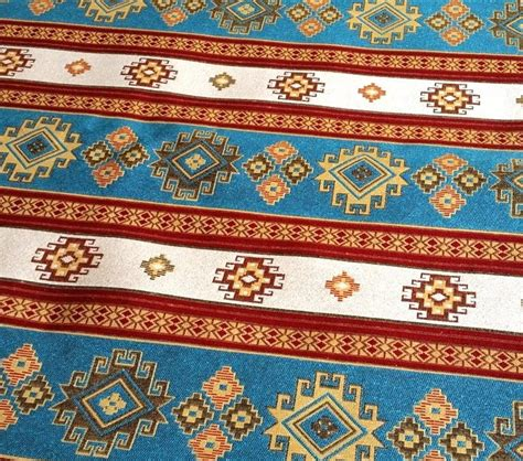 Tribal Upholstery Fabric by Ethnic Tribal Style Upholstery Fabric Aztec By Anatoliafabric