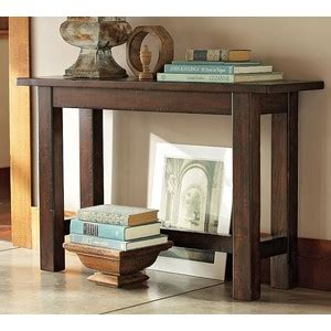 sofa table pottery barn pottery barn hyde console table polyvore