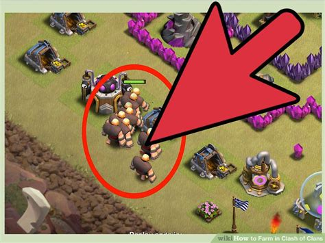 imagenes epicas de clash of clans how to farm in clash of clans with pictures wikihow