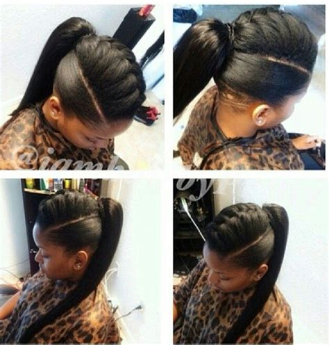 braids with a weave bang 34 best buns bangs ponytails updos images on