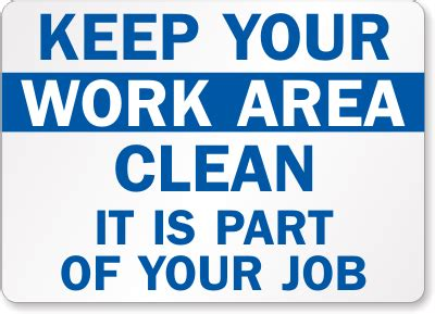 free printable keep area clean signs keep your area clean signs