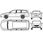 CAR Blueprints  2003 Honda Accord Wagon Blueprint
