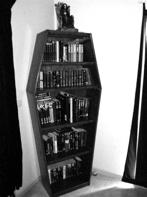 librero ataud coffin bookcase things i want to make pinterest