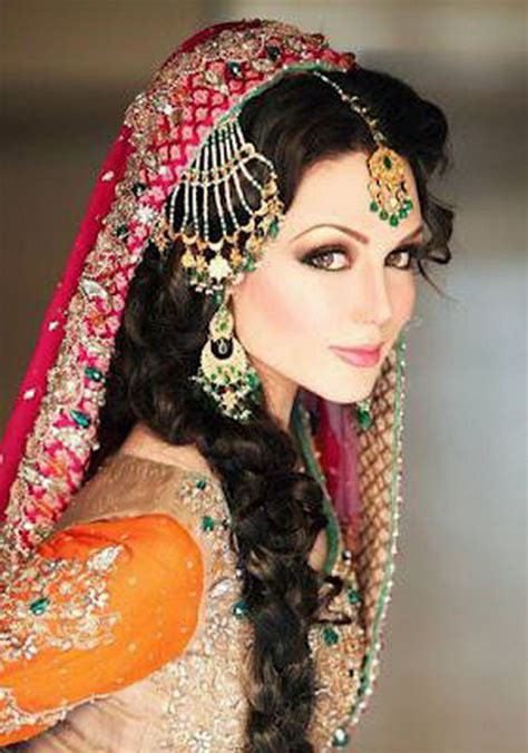 hair styles pakistan bridal hairstyles in pakistan