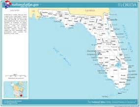 map of florida with cities listed printable maps reference