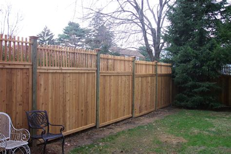 fence toppers privacy fence in glenside montgomery county pa