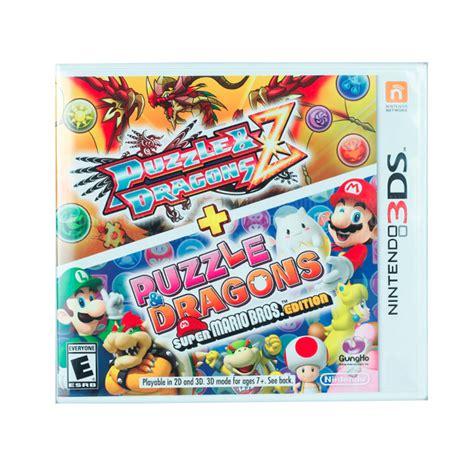 Nintendo 3ds Puzzle Dragons Z Mario Bros Edition juego nintendo 3ds puzzle dragons z mario bros edition alkosto tienda