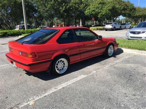 1989 acura integra ls hatchback 3 door 1 6l