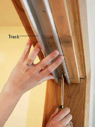 How To Install Sliding Closet Doors On Tracks Installing Bypass Doors How To Install House Doors Diy Advice
