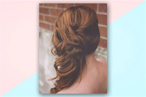 Bridal Hairstyles Side Curls by 4 No Fail Bridal Hairstyles For Medium Hair Bebeautiful