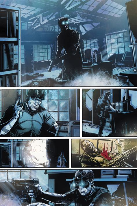 Tom Clancys Splinter Cell Echoes Vol 1 Graph Beli Sekarang dynamite and ubisoft team up for tom clancy s splinter