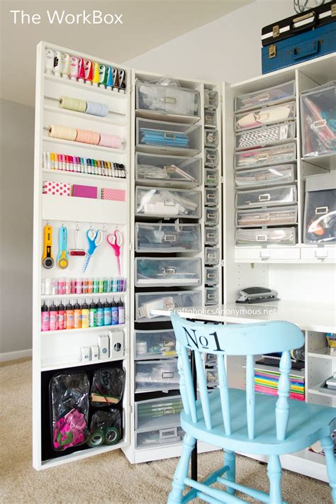 craft room storage cabinets craft room tour craft room storage storage ideas and