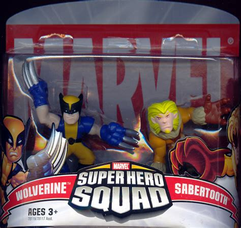 Figure Transformers Shs wolverine sabertooth squad figures