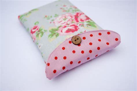 Handmade Phone Covers - cath kidston iphone cover fabric phone handmade sleeve