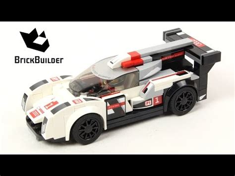 Lego Speed Chions 75872 Audi R18 E Quatro 75872 audi r18 e quattro de lego