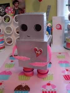Valentine robot i bet it s hard to make but it s a great present