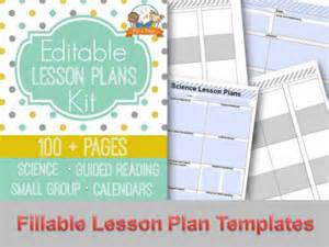 editable lesson plan template printable lesson plans for preschool pre k and kindergarten