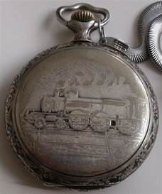 rare antique large doxa railroad open face swiss pocket watch ebay