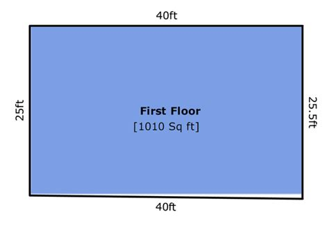 determining square footage of a house square feet of a house how to measure home deco plans