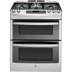 home depot slide in gas range ge profile 6 7 cu ft slide in oven gas range with