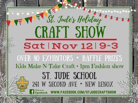 st jude holiday craft show set for nov 12 new lenox