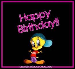 tweety happy birthday gif hinojosasarah photobucket
