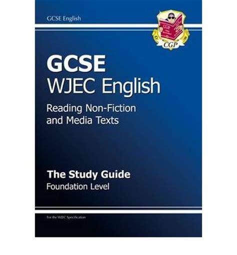 libro revise wjec gcse english gcse wjec english cgp books 9781847621054