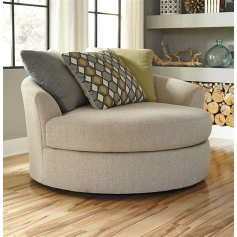 oversized swivel accent chair casheral fabric oversized swivel accent chair in