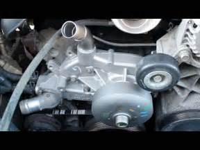 how to replace install waterpump gmc yukon 2002 2006