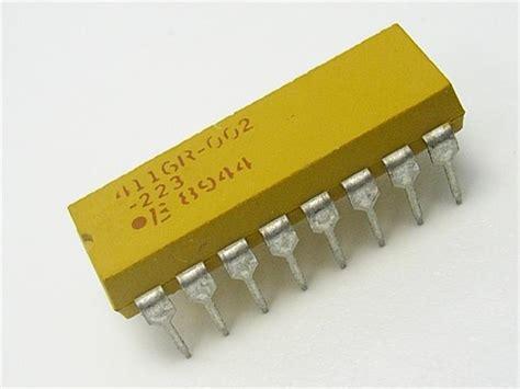 resistor network dil network 16p8r 270r communica