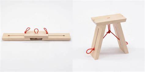 taburete la cuerda taburete plegable es un banco plegable que se vale de una