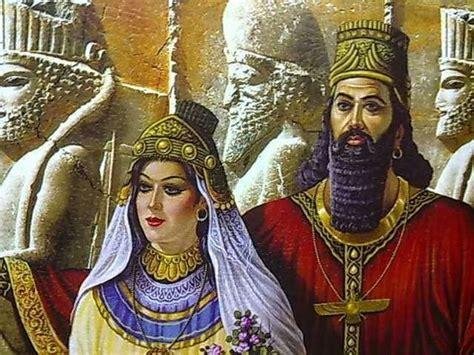 darius king داریوش شاه بزرگ و ملکه آتوسا دختر کوروش بزرگ darius