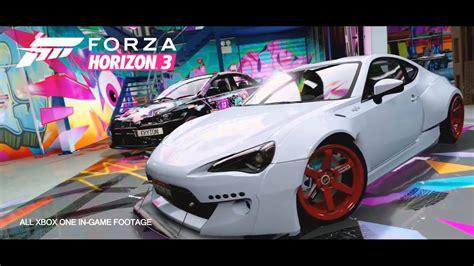 widebody cars forza horizon 3 cars in forza horizon 3 with wide body kits cars image 2018