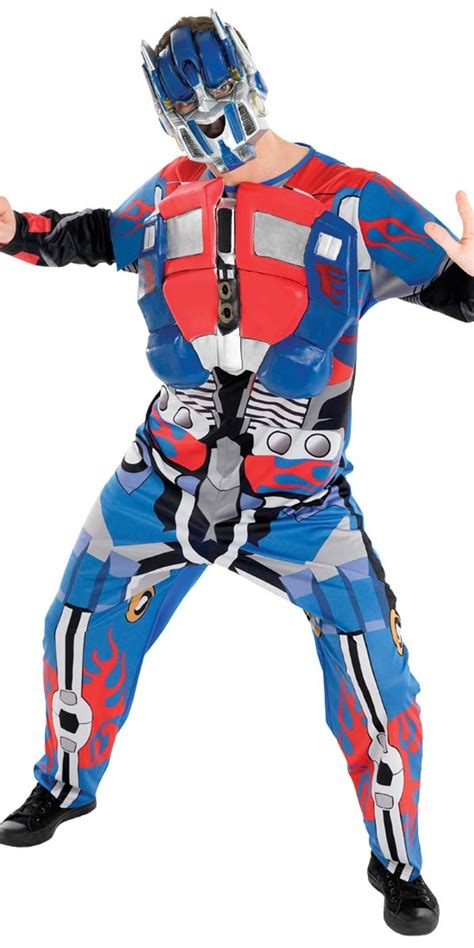 80s Accessories For Prime by Transformers Optimus Prime Costume 880279 Fancy