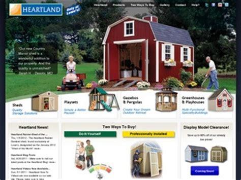 heartland backyard storage heartland industries backyard storage