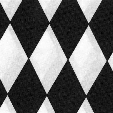 black and white harlequin pattern fabric black white harlequin table linen
