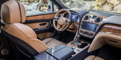 2017 bentley bentayga interior 2017 bentley bentayga luxury suv news suvs com
