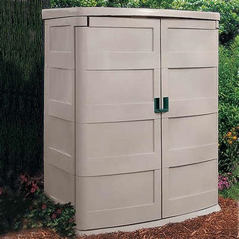 Suncast Vertical Garden Shed Suncast 174 Vertical Garden Shed 138476 Patio Storage At