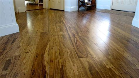 Smoked Eucalyptus flooring from Greenwood.   Building
