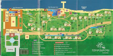 dorado resort map el dorado royale resort map resort maps el