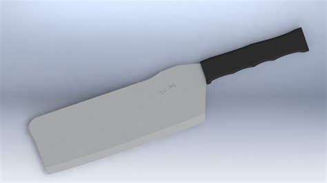 Tactical Kitchen Knives by Tactical Kitchen Cleaver Knife Free 3d Model Stl