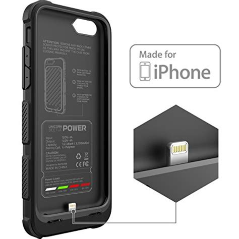 Powercase Iphone 6plus iphone 6s battery supcase mfi certified beetle power