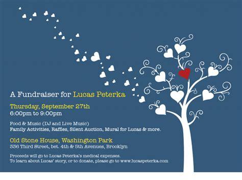 Fundraising Letter Invitation fundraiser invitation graphic design
