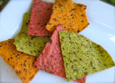 colored tortilla chips nachos on veggie flaxseed tortilla chips our healthy