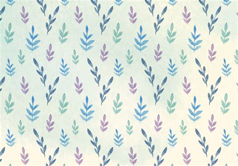 watercolor pattern download free vector watercolor leaves pattern download free