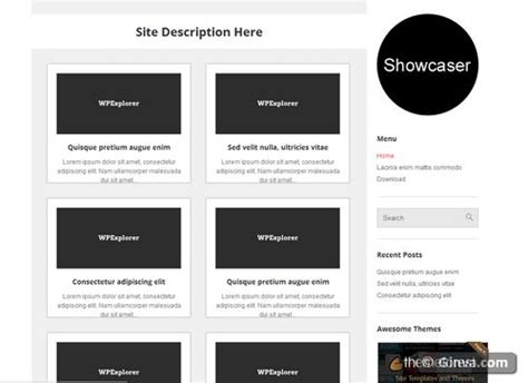 themes wordpress free simple 123 free clean and simple wordpress themes ginva