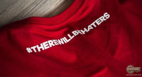 T Shirt Kaos Adidas There Will Be Haters 1003 Dear Aysha check out the newest there will be haters t shirts from adidas