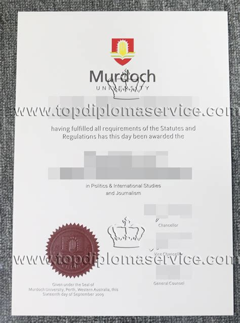 Buying Mba Degree by Murdoch Diploma Buy Australia Certificate