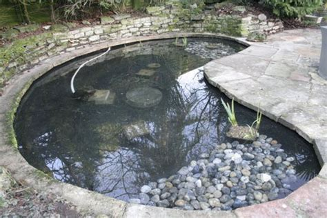 how to clean a backyard pond pond clean efficient pond restoration to create new life